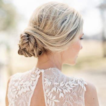 Descubra os 30 melhores penteados de noiva apanhados 2017, escolha o seu!