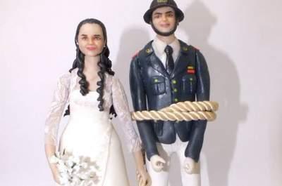 Las figuras más originales para las tortas de matrimonio. ¡Innovadoras ideas!