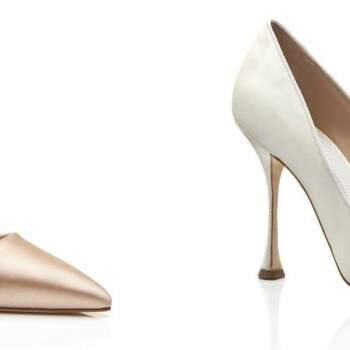 Zapatos de novia Manolo Blahnik 2016: máximo glamour a tus pies