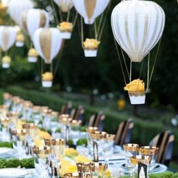 Casamento com balões para inspirar sua decoração e fotos!