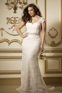 Vestido de novia 2016 tallas grandes