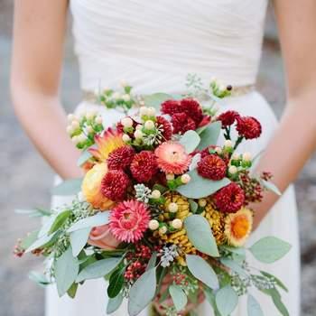 60 buquês de noiva RÚSTICOS maravilhosos para você se inspirar!