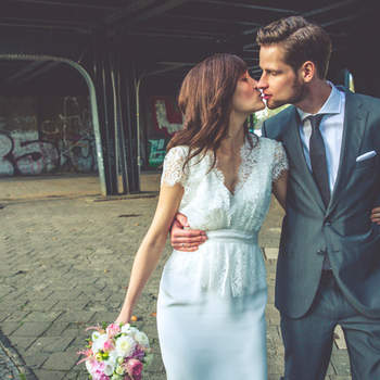 You May Now Kiss the Bride: 39 of our favorite couple smooch moments