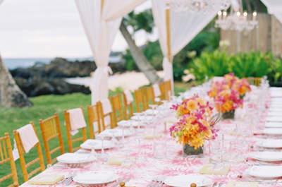 25 tipi di decorazione per i tavoli del tuo matrimonio nel 2017: scegli il tuo!