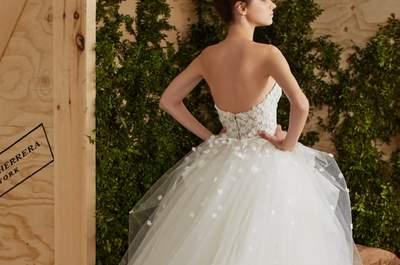 Vestidos de novia Carolina Herrera 2017: diseños románticos y elegantes