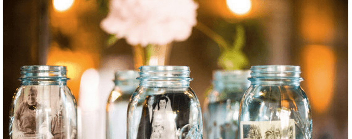 Gorgeous Glass Jars for your Wedding Décor – Recycling Never Looked So Good!
