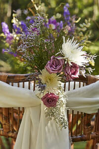 Decoração de cadeiras de casamento 2016