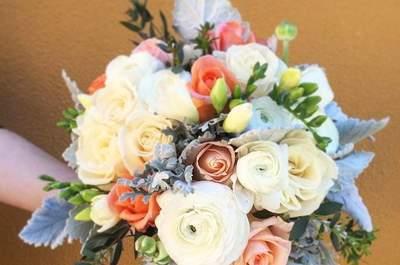 50 ramos de noiva 2017 nos quais se deve inspirar para o seu casamento. Dê cor ao seu look com as melhores flores!