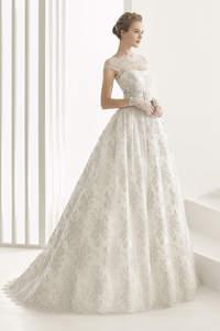 Vestidos de noiva Rosa Clará 2017. A melhor coleção para a mulher moderna!