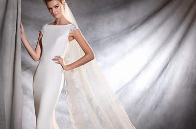 Robes de mariée coupe sirène 2017 : 35 modèles d'exception à découvrir sans plus attendre !