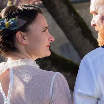 Un mariage conte de fée vintage avec ce joli shooting d'inspiration rétro en Charente