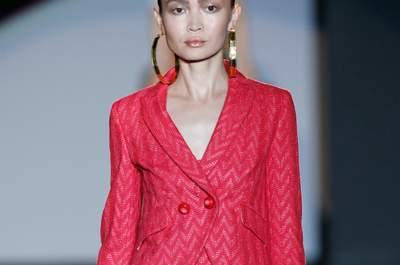 Vestidos de fiesta de Roberto Verino Primavera-Verano 2015: misterio y sensualidad