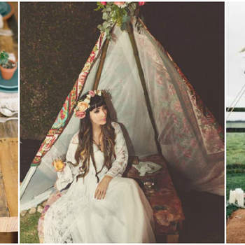 28 Boho-Chic Ideas for Your 2017 Wedding