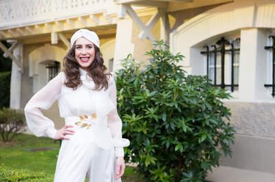 Peinados con pelo suelto para novias 2016: Estilos al natural para el gran día