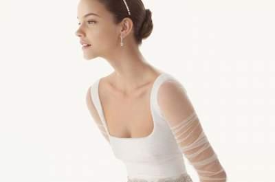 40 vestidos de noiva para mulheres magras 2017: espetaculares!
