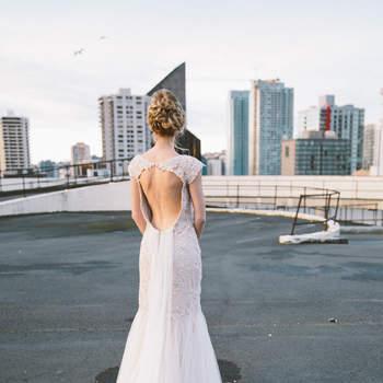 Une mariée sur les toits : Inspirez-vous de cet incroyable shooting végétal à Seattle