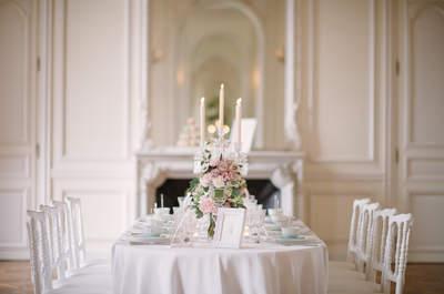 Inspiración para tener una boda elegante: ¡Decoraciones increíbles!