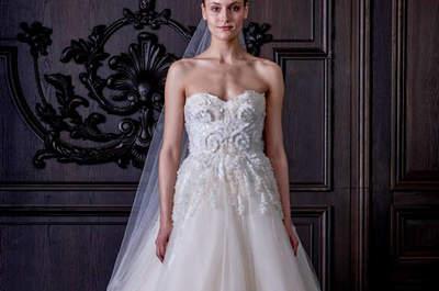 Vestidos de novia con falda voluminosa 2016: los 60 mejores diseños