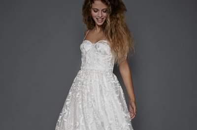 Vestidos de noiva Colecção 2017: romantismo e elegância por Pureza Mello Breyner