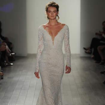 Entdecken Sie Brautkleider von Lazaro 2017: Opulent, romantisch, zauberhaft