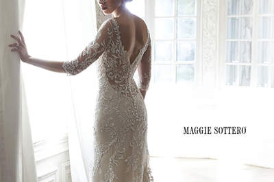 Descubre los vestidos de novia de Maggie Sottero primavera 2015: una colección mágica