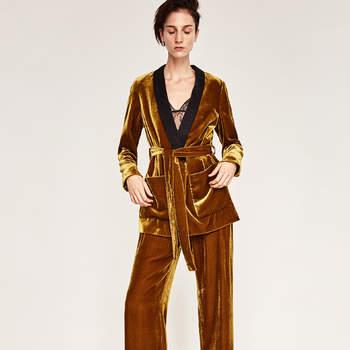 Invitadas con traje chaqueta-pantalón. ¿Te atreves a arriesgar con esta tendencia?