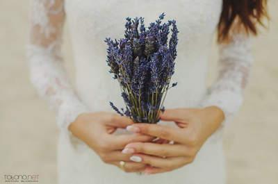 Buquês de noiva com flores silvestres 2017: um toque boho chic deslumbrante!