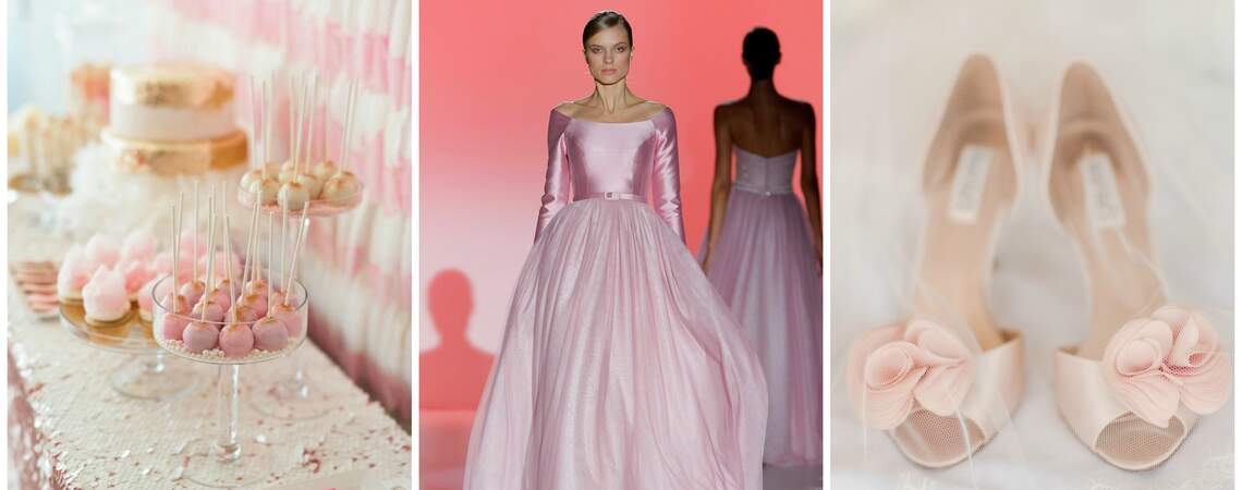 Rose Quartz: the New Pantone Pink You'll be Seeing at Spring Weddings in 2016