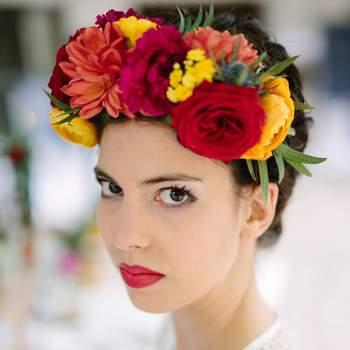 Une inspiration fleurie et colorée pour votre mariage? Inspirez-vous du Mexique!