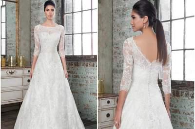 Seduce a tus invitados con un exclusivo vestido de novia Justin Alexander Signature 2016