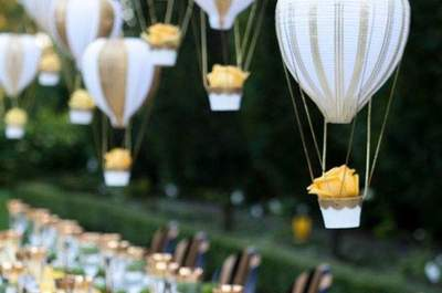 Wedding Decor Inspiration: Balloons!