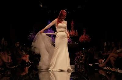 Black Tie apresenta vestidos de noiva Berta Bridal e Justin Alexander em desfile rock'n'roll no Casamoda Noivas