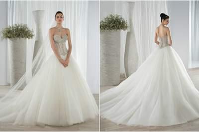 No te pierdas los glamourosos vestidos de novia Demetrios 2016