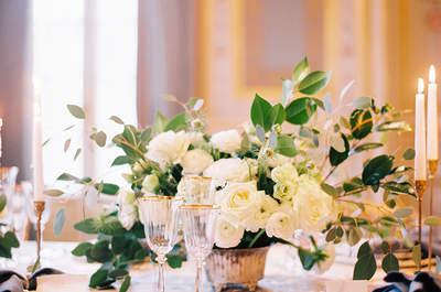 Los 60 centros de mesa para bodas 2016 más impresionantes: ¡Enamórate de todos!
