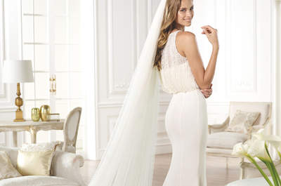 Vestidos de novia con corte sirena que resaltan tus curvas
