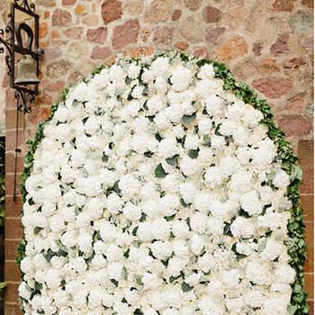 Photocall - czyli pionowy ogród na weselu. Nowość oraz jedna z najbardziej oryginalnych  dekoracji !