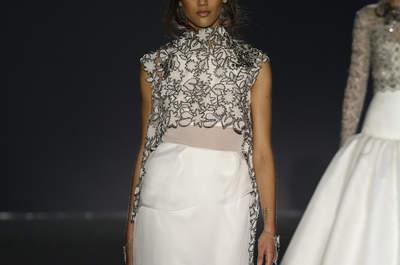 Robes de mariée Jesús Peiró 2016 : une collection tout en finesse