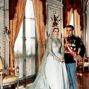 Inspírate en el look de Grace Kelly para tu boda y triunfarás