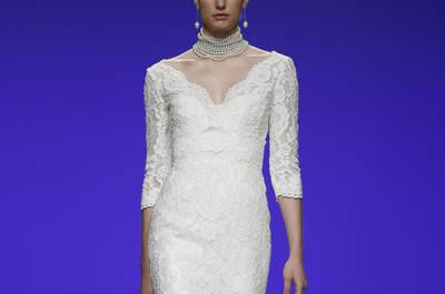 Vestidos de novia con manga larga para el 2016