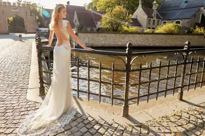 23 vestidos de novia que te harán lucir perfecta ¡de pies a cabeza! Solo Merav 2016