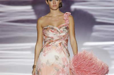 Selección de vestidos de fiesta estampados y con diseños florales 2013