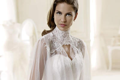 Wedding dresses for brides with a larger bust: Voluptuous elegance
