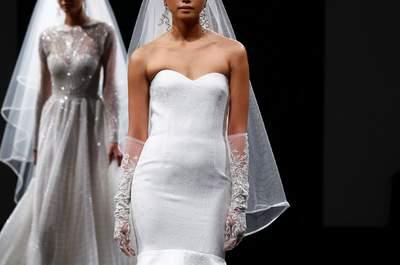 Naeem Khan Spring 2016 Bridal Collection Catwalk