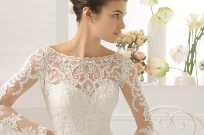 Robes de mariée à manches longues 2017 : 45 modèles qui font rêver !