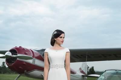 Conoce la nueva colección 2014 de vestidos de novia Justin Alexander