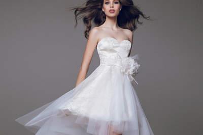 Vestidos de novia de Blumarine 2015: la esencia de la elegancia