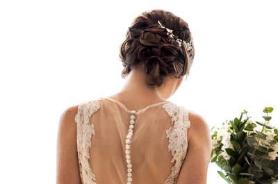 Alarga tu figura con un diseño de vestido de novia especial ¡5 tips para verte radiante!