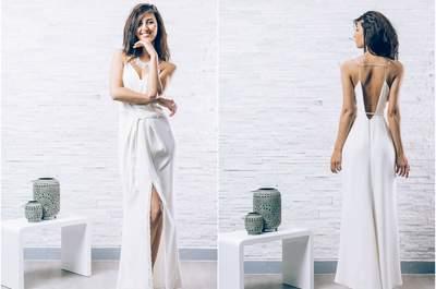 Robes de mariée Elisa Ness 2016 :  une collection moderne et glamour