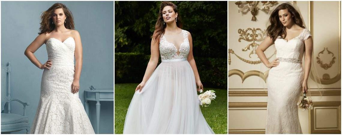 Brautkleider für mollige Bräute 2016: Zeigen Sie Ihre Weiblichkeit!