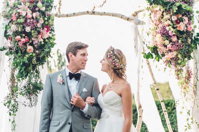Blumenschmuck-Trends für Ihre Hochzeit 2017: hier sehen Sie 8 der schönsten Ideen!